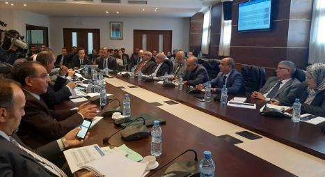 بنشعبون يقدم مشروع مالية 2020 أمام لجنة المالية بمجلس المستشارين