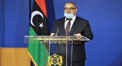 رئيس المجلس الأعلى للدولة في ليبيا يثمن جهود المغرب لإنجاح الحوار الليبي