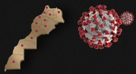 """هذه خريطة التوزيع الجغرافي لنسب الإصابة بـ""""كورونا"""" وفق آخر حصيلة"""