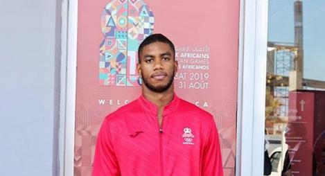 البطل المغربي محمد لهبوب يحرز  فضية الجيدو في الألعاب الإفريقية