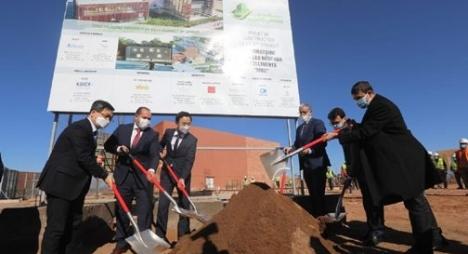 رباح يشرف على إطلاق أشغال بناء مركز أبحاث في الشبكات الذكية بابن جرير