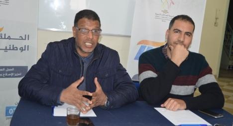 لبداوي يبرز الحصيلة المرحلية المشرفة لجماعة آسفي