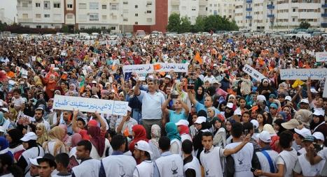 ناشطة يسارية: إنهم يريدون شعبا لا يصوت على العدالة والتنمية