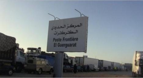 """المغرب يوجه تحذيرا رسميا إلى """"البوليساريو"""" بسبب مناوراتها في الكركرات"""