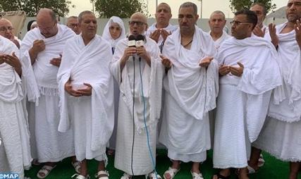 عملية تصعيد الحجاج المغاربة من مكة إلى منى ثم إلى عرفات مرت في ظروف جيدة