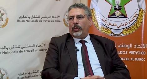 الحلوطي يؤكد حرص نقابته على العمل الجاد ويجدد موقفها الرافض للتطبيع مع الصهاينة