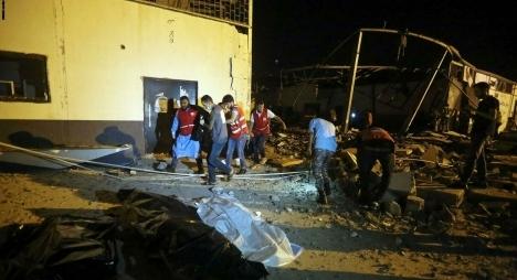 ارتفاع المصابين المغاربة في قصف مركز الهجرة بليبيا إلى 9 مواطنين