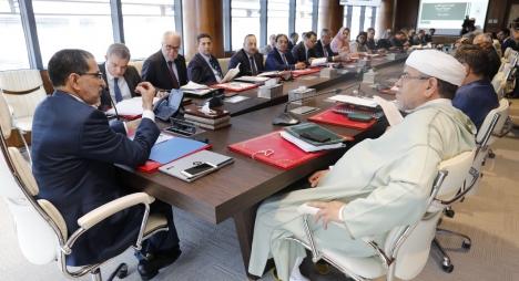 رئيس الحكومة يترأس الاجتماع الثاني للجنة بين الوزارية لتتبع وتيسير تنزيل البرنامج الحكومي