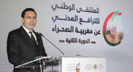 الخلفي: نسعى ليصبح الترافع عن قضية الصحراء قضية كل مغربي