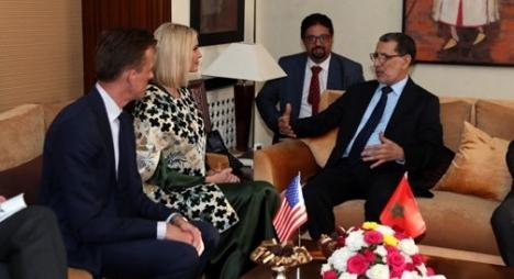 العثماني ومستشارة ترامب ينوهان بالمستوى المتميز لعلاقات التعاون القائمة بين المغرب وأمريكا