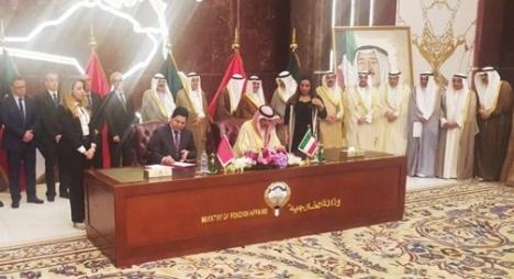 المغرب والكويت يوقعان على خمس اتفاقيات للتعاون الثنائي في مختلف المجالات