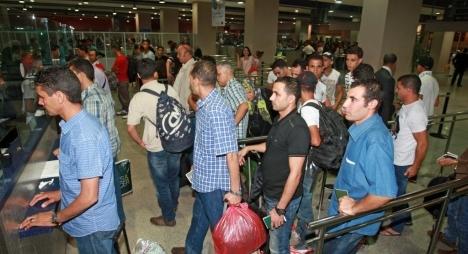 انطلاق العملية الثالثة لترحيل المغاربة العالقين في ليبيا