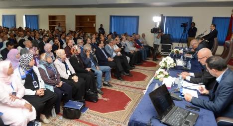 إقبال كبير ومتميز لقيادات الحزب المركزية والمجالية لملتقى الكتاب المجاليين (فيديو)