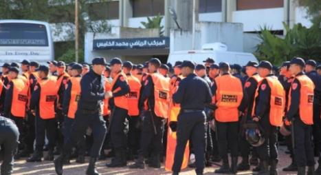 استعدادات أمنية غير مسبوقة لتأمين الديربي البيضاوي