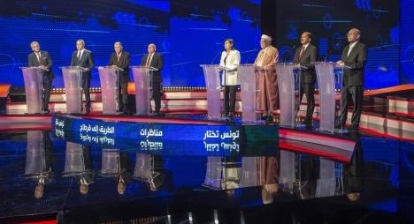 تونس .. لأول مرة مناظرة تلفزيونية بين مرشحي الرئاسة