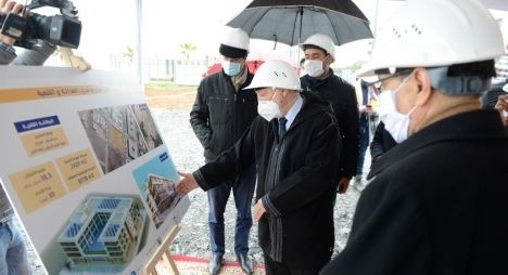 العثماني يشرف على إعطاء انطلاقة بناء المقر المركزي لحزب العدالة والتنمية