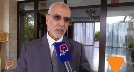 """العمراني يبرز دلالات زيارة حزب """"المصباح"""" لسفارة الصين بالمغرب+(فيديو)"""