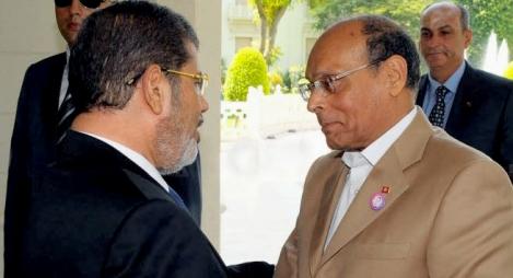 """المرزوقي يكشف عن محاولة للتخلص من مرسي عن طريق """"الغذاء"""""""