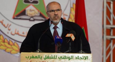 المعتصم: هذه عناصر قوة الاتحاد الوطني للشغل بالمغرب