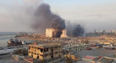 السفارة المغربية بلبنان: إصابة مواطنة مغربية في انفجار بيروت