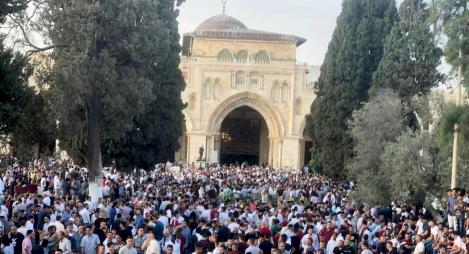 المقدسيون يؤجلون نحر الأضاحي أول أيام العيد لهذا السبب