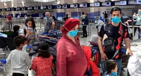 إعادة 278 من المغاربة العالقين بسلطنة عمان وقطر والأردن