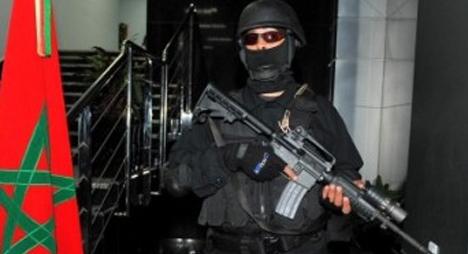 انخفاض قضايا الإرهاب بالمغرب سنة 2017