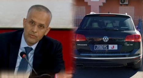 شوباني: سائق سيارة مجلس الجهة التي شوهدت بزاكورة لا يملك أي صفة قانونية