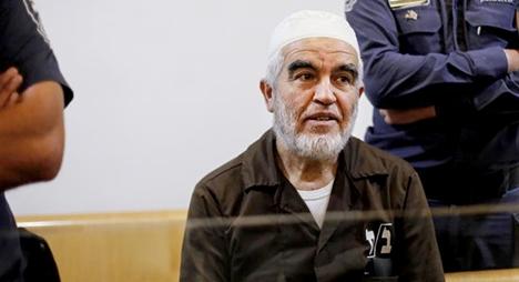 محكمة الاحتلال تقضي بسجن الشيخ رائد صلاح 28 شهرا