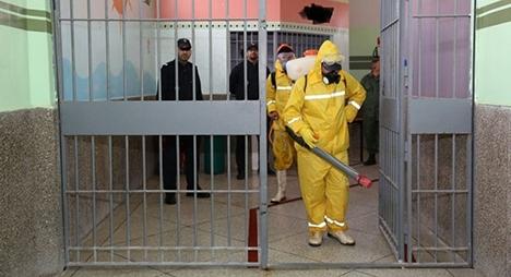 """توضيحات رسمية بشأن الإصابات الجديدة بـ""""كورونا"""" المسجلة بسجن طنجة"""