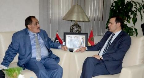 الصمدي يبحث تطوير الشراكة مع ليبيا في مجال التعليم العالي