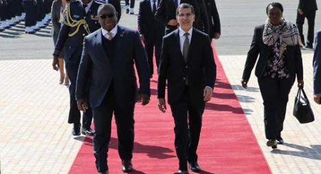 رئيس الحكومة يستقبل رئيس جمهورية سيراليون