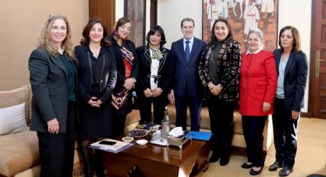 رئيس الحكومة يستقبل مكتب جمعية النساء رئيسات المقاولات بالمغرب