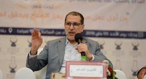 العثماني: نريد لمسلسل الانتقال الديمقراطي في المغرب أن يستمر دون شوائب أو تشويشات