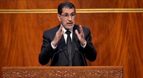 رئيس الحكومة يحل بالجلسة الشهرية بمجلس المستشارين
