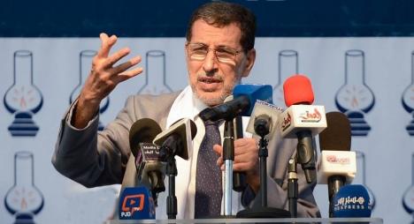 """العثماني يفتتح انعقاد المؤتمرات الجهوية لشبيبة """"المصباح"""" من طنجة"""