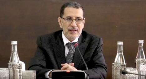 """العثماني يدعو المغاربة للاستفادة من حق """"تقديم العرائض"""" (فيديو)"""