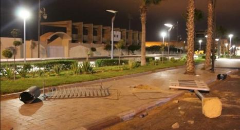 العيون..أحداث تخريبية بسبب احتفالات فوز المنتخب الجزائري بكأس إفريقيا
