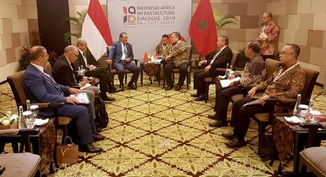 اعمارة يشيد برغبة أندونيسيا في تطوير تعاونها الاقتصادي مع إفريقيا