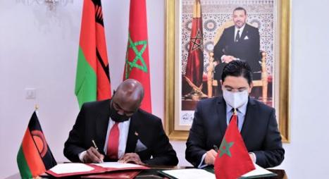 تغطي 5 مجالات.. هذه تفاصيل أربع اتفاقيات للتعاون بين المغرب ومالاوي