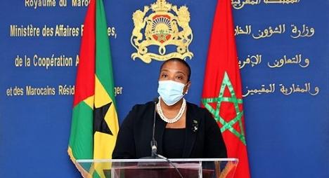 جمهورية ساوتومي وبرنسيب تدعم إجراءات المغرب السلمية لتأمين الكركرات