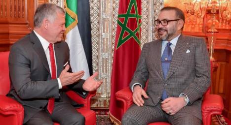 عاهل الأردن يشيد بقرارات جلالة الملك لتأمين الحركة المدنية والتجارية بمنطقة الكركرات