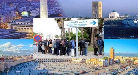 دراسة: مدن الرباط والدار البيضاء ووجدة تحتضن ثلث اللاجئين بالمغرب