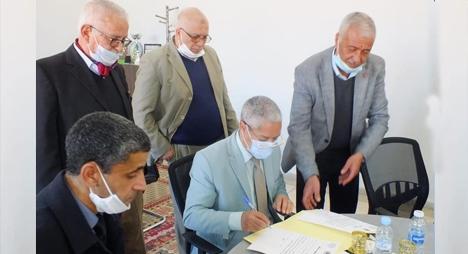 انتهاء أشغال مجزرة جماعة أولاد برحيل.. وأمجان يتسلم المشروع