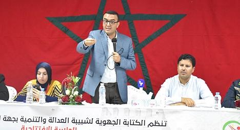 أمكراز: فلسطين قضية إجماع بالمغرب