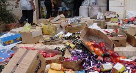 إحالة 618 ملفا على القضاء بسبب منتجات غذائية غير صالحة