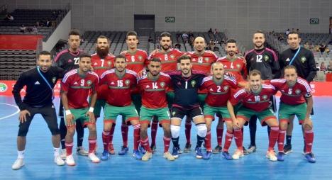 المنتخب الوطني لكرة القدم داخل القاعة يفوز بالدوري الدولي للصين