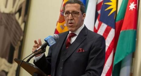 السفير هلال: استرجاع الصحراء المغربية تم طبقا للقانون الدولي