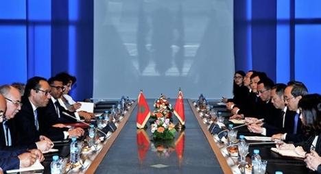 اعمارة:المغرب يرغب في الاستفادة من التجربة الصينية في مجال البنية التحتية والنقل المستدام