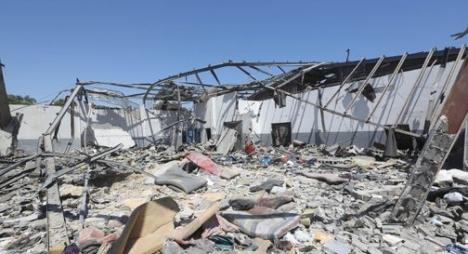 بلاغ: سبعة مغاربة لقوا حتفهم إثر القصف الذي طال مركز للهجرة بليبيا